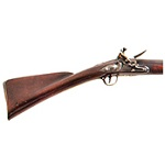 Antique, Fine Flintlock Fowler, Outstanding, 7.5-Feet Long! Amazing Condition British Lock Marked Grice within Rococo Ribbon, William Grice, Circa 1760-1770 Birmingham and London, Worked 1766-1777