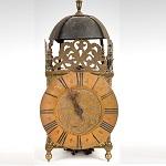Antique Lantern Clock, G. Maynard, Melford George Maynard, Long Melford