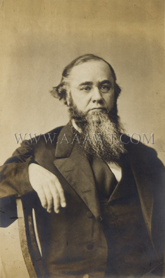 Photograph of Edwin M. Stanton, entire view