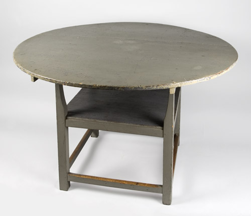 Antique Hutch-Table  Chair-Table,  Maple, Original Condition and Surface History New England, Circa 1820-1840, table view