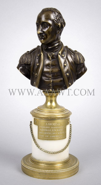 A Very Good Bronze Bust