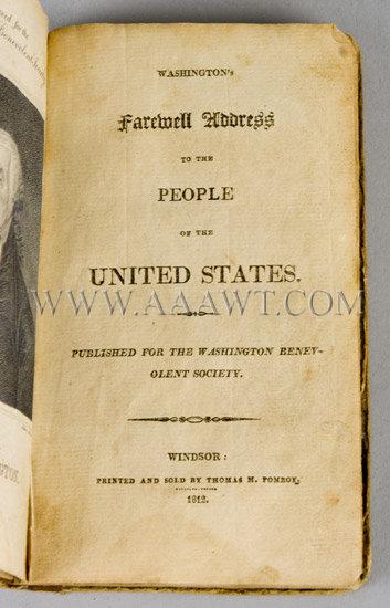 the farewell address of george washington in 1796