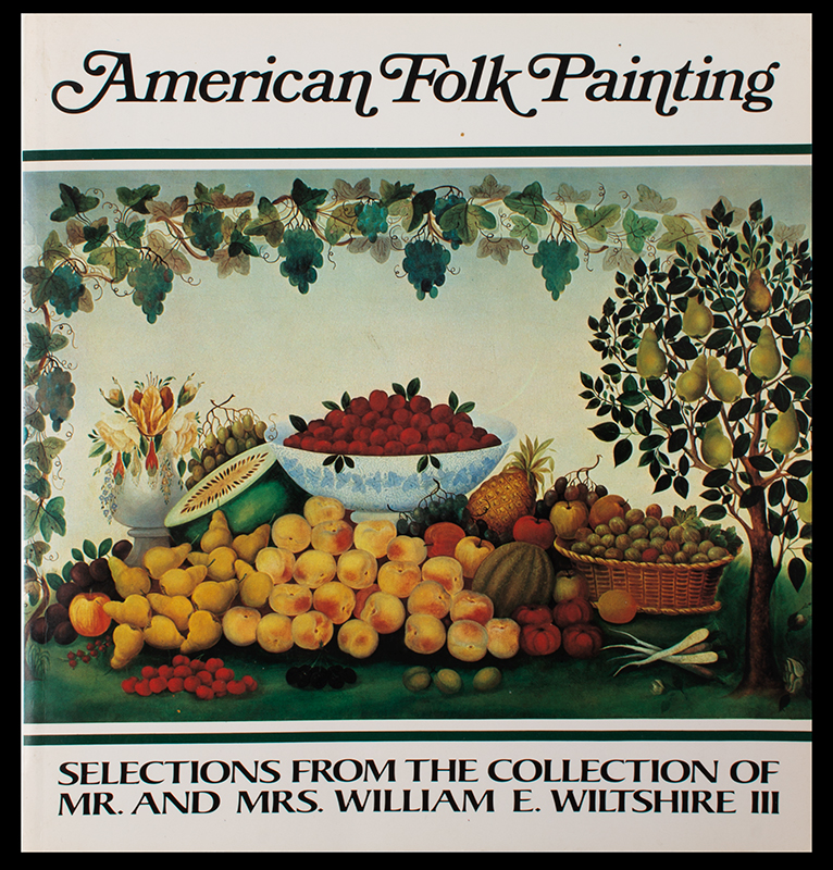 American Folk Painting Wm Wiltshire Collection, cover view