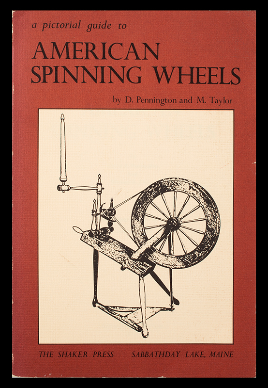 American Spinning Wheels The Shaker Press, cover view