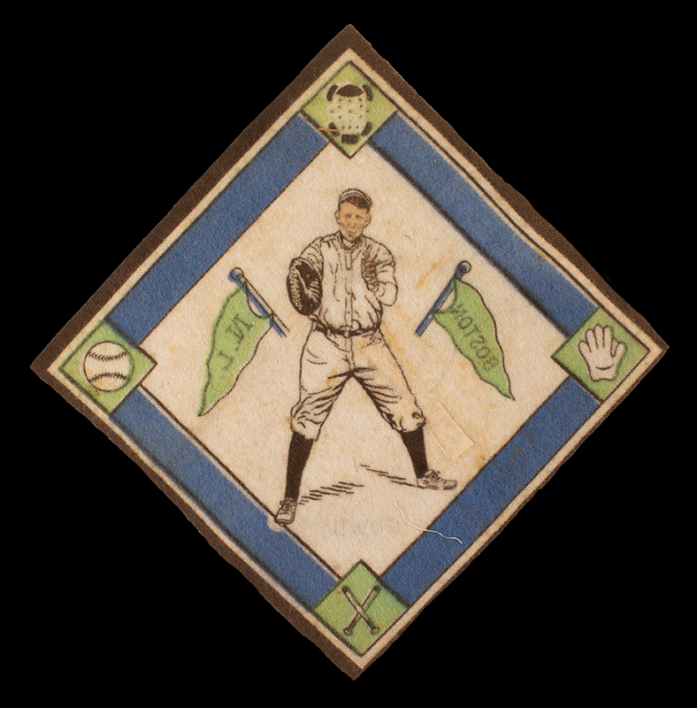 Hank Gowdy Archive, 1914 World Series, Most Valuable Player, WWI Hero, blanket view