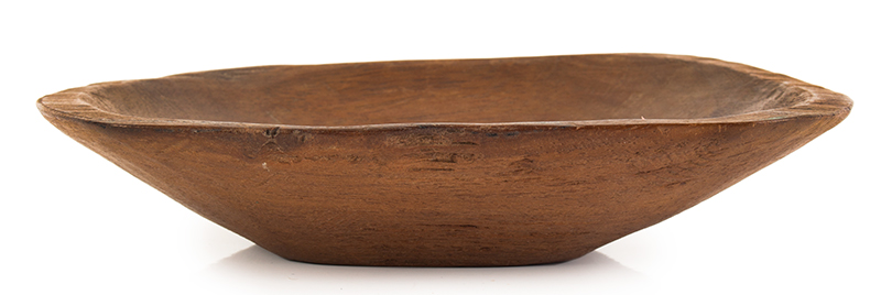 19th Century Miniature Chopping Bowl American, entire view 1