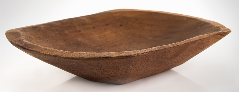 19th Century Miniature Chopping Bowl American, entire view 2