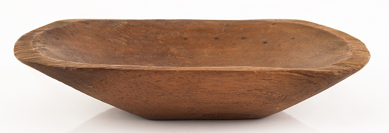19th Century Miniature Chopping Bowl American, entire view 3