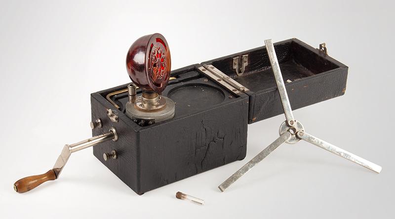 1f6e2d2891e Rare Antique Portable Gramophone Record Player