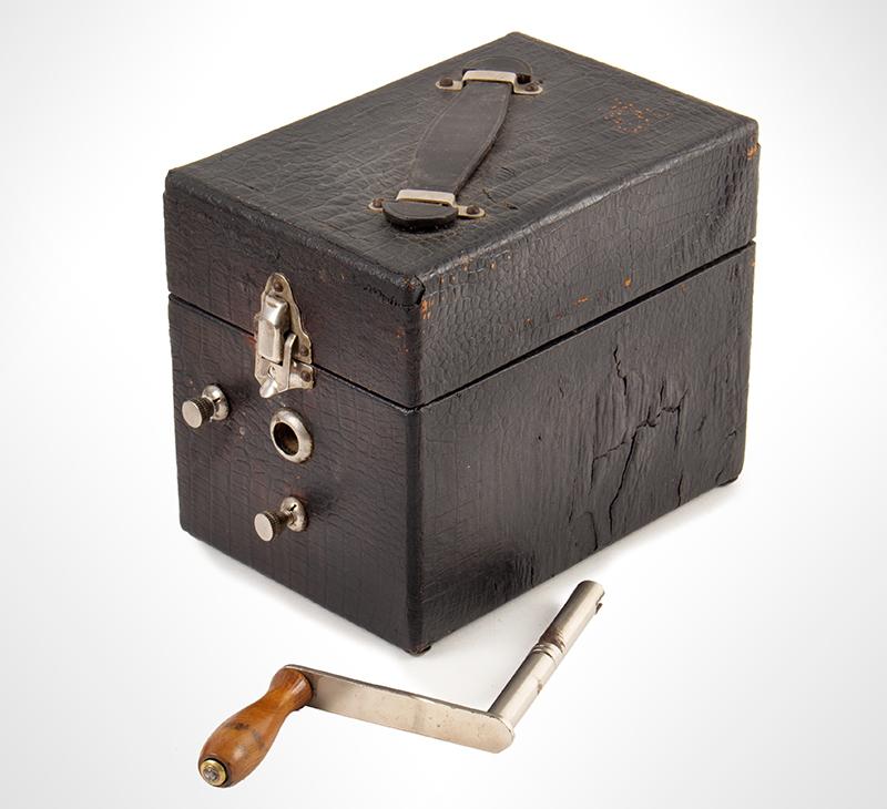 Cameraphone, <br>Rare Antique Portable Gramophone Record Player, Pet-O-Phone