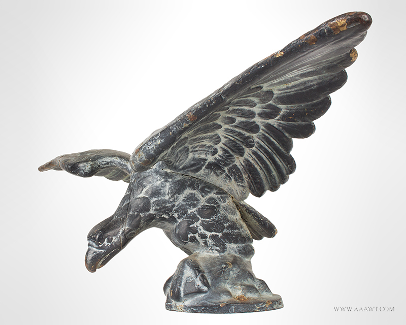Cast Iron Pilothouse Eagle, Spread Wing Anonymous, 19th C