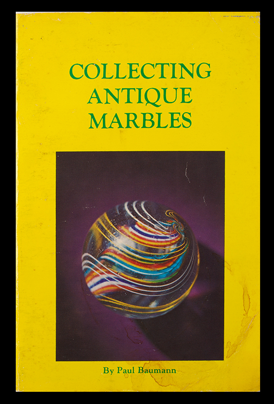 Collecting Antique Marbles Paul Baumann, cover view