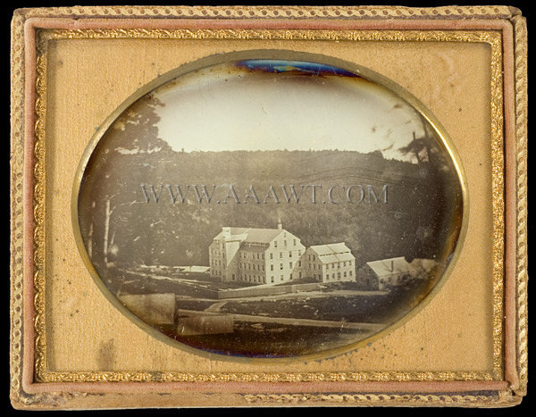 Daguerreotype, Factory, Quarter Plate Anonymous 19th Century, entire view