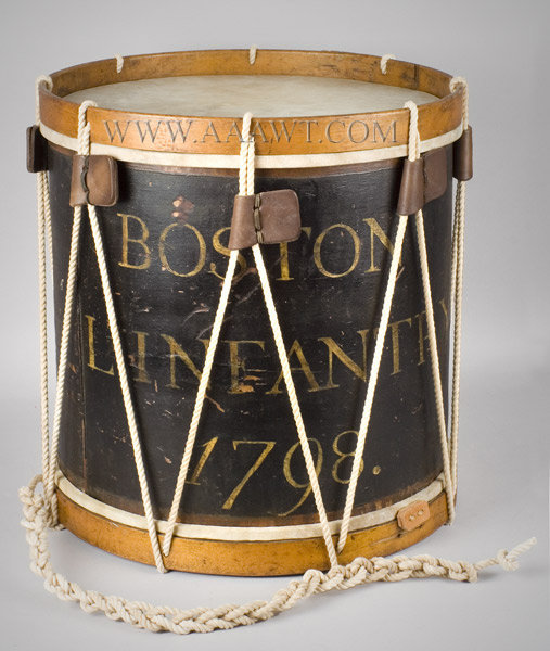 Historic Drum, Boston Light Infantry
