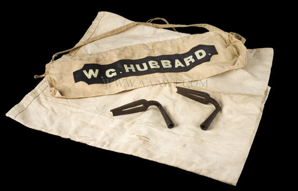 Firefighter's Salvage Bag  19th Century, entire view