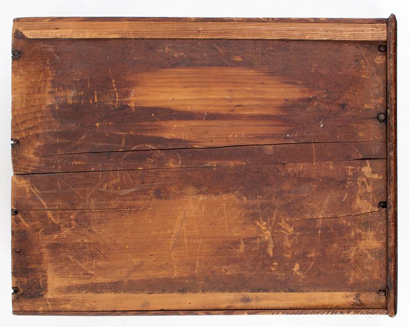 Lowboy Scrolled Apron w/ Fishtail & Original Drawer Pennsylvania, circa 1755, bottom view