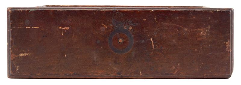 Lowboy Scrolled Apron w/ Fishtail & Original Drawer Pennsylvania, circa 1755, front view