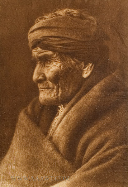Photogravure, Geronimo, Apache