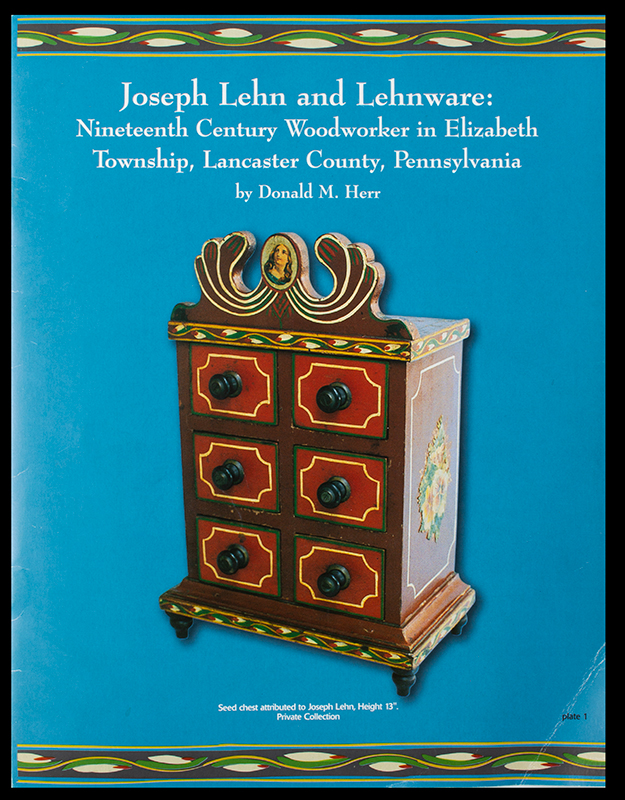 J Lehn and Lehnware, pamphlet, cover view