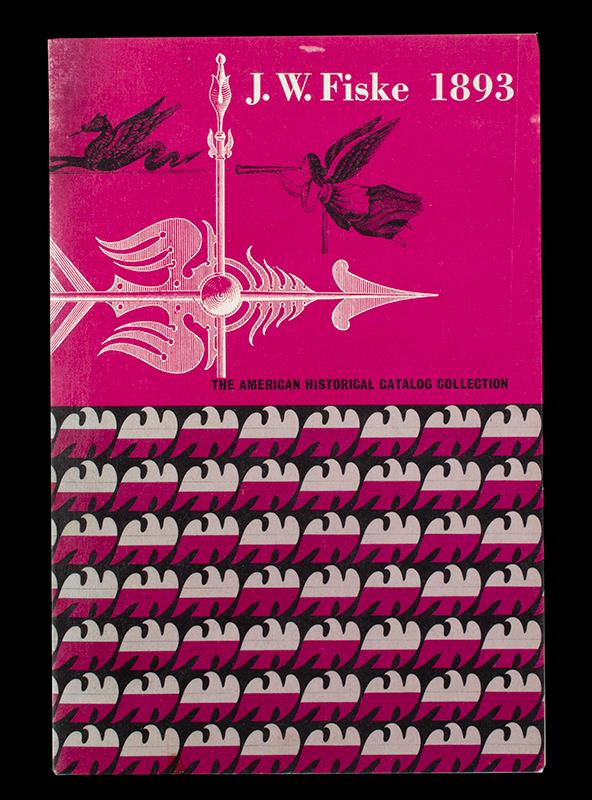 JW Fiske 1893 - Weathervanes, cover view