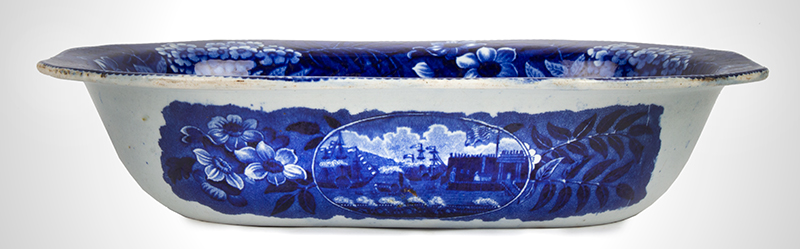 Transferware, Historical Blue, Clews,
