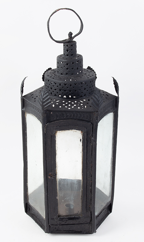18th Century Hexagonal Lantern, Wedding Cake Probably England, Late 18th/Early 19th Century, entire view 2