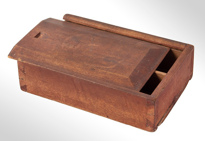 Antique Slide-Box, Dovetail entire view 1