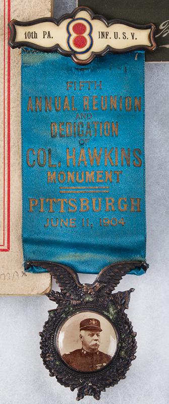 Spanish American War Veteran's Medals & Memorabilia.  Charles M. Faust – Lima, Ohio, detail view 1