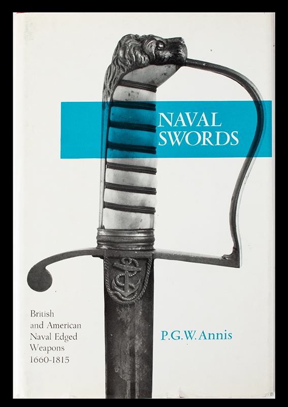 Naval Swords P.G. Annis, cover view