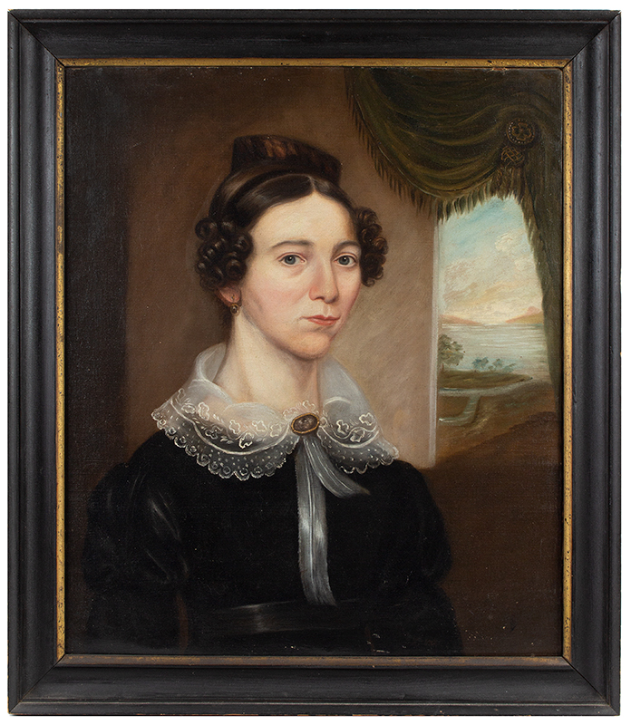 AntiquePortrait, American School,