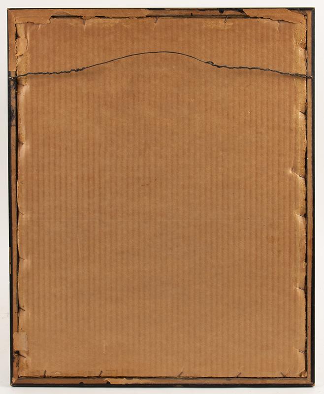 Needlework Sampler: Elizabeth McGibbon, Aged 8 Years, 1828, Portsmouth, New Hampshire
