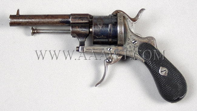 European Pinfire Revolver