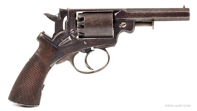 Revolver, By Mass Arms Co., Adams Patent
