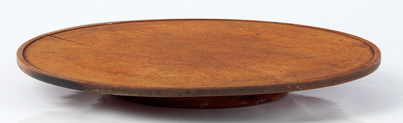 Antique, Treen Tazza, Dished Top Maple, Circa 1780-1850, entire view 1