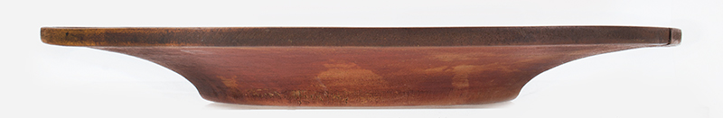 Antique, Treen Tazza, Dished Top Maple, Circa 1780-1850, entire view 2