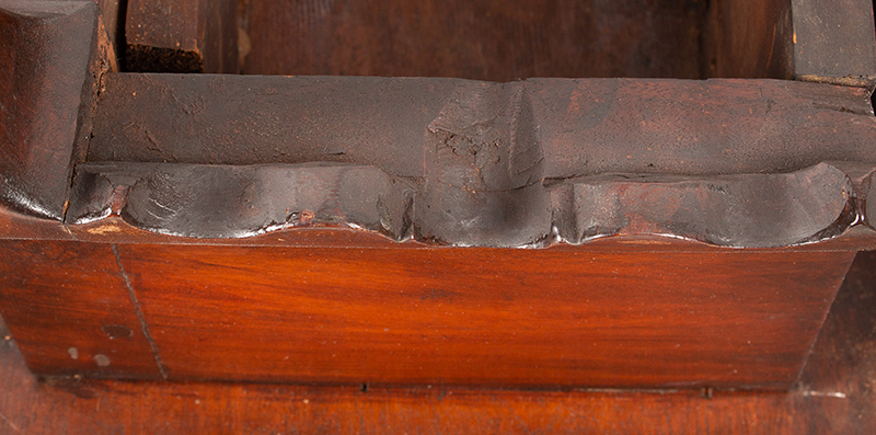 Period Queen Anne Drop Leaf Table, Boston - Essex County, Circa 1770 A scarce small size mahogany table, detail view 3