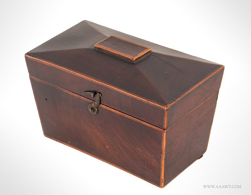 19th Century Miniature Tea Caddy