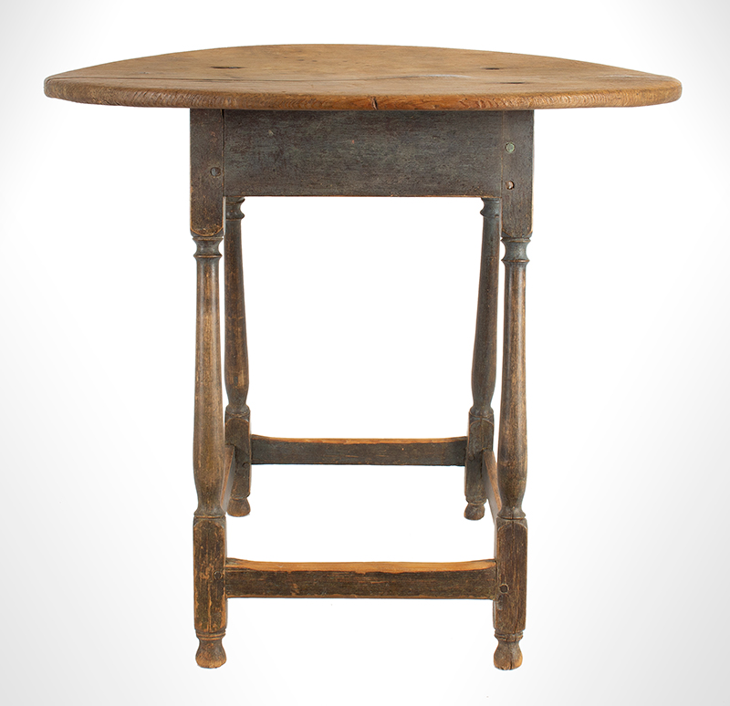 Tea-Table,-Oval,-Splayed-Stretcher-Base_view-1