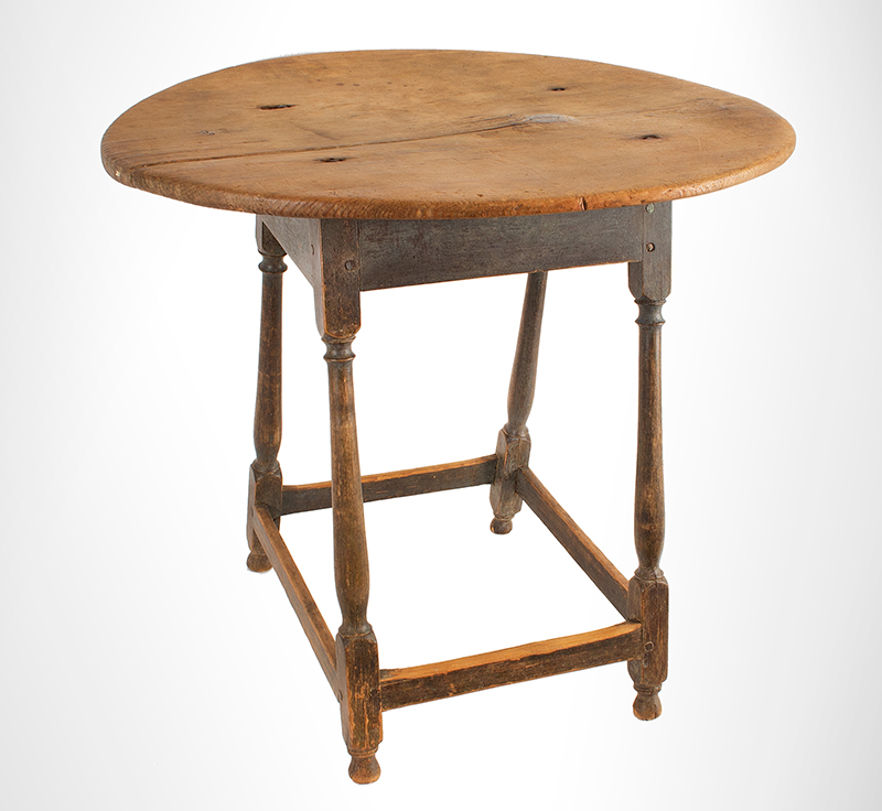 Tea-Table,-Oval,-Splayed-Stretcher-Base_view-2
