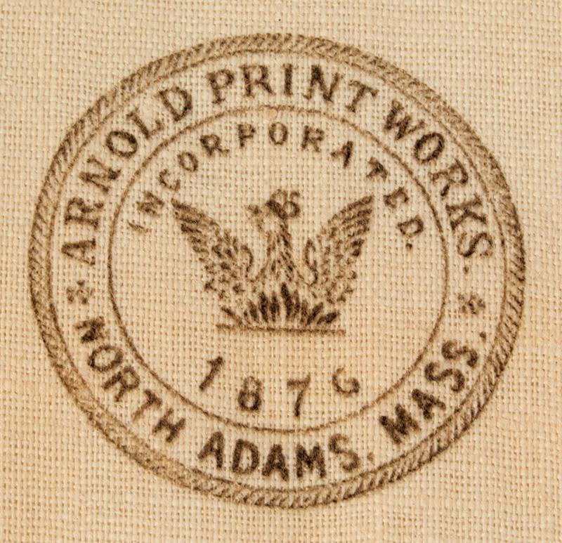 Arnold Print Works Uncut Pillow Panels, Tabby's Kittens & Pug Puppies Rare Cutout Patterns, c. 1892 North Adams, Massachusetts, detail view