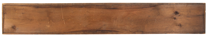 19th Century Trade Sign, FISH MARKET, Original Paint, back view