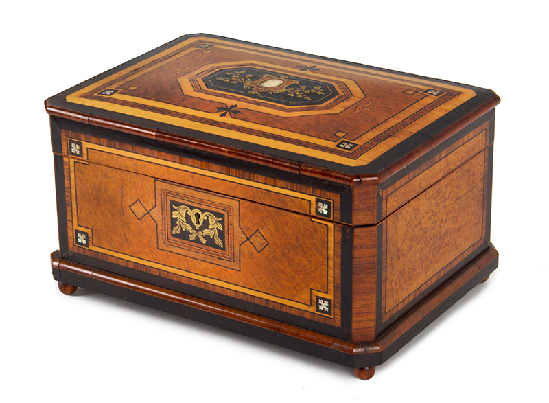 Fancy Travel or Sewing Box