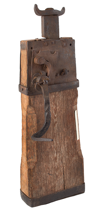 18th Century Conestoga Wagon Jack American, Likely Pennsylvania, Circa 1780-1790, entire view 1