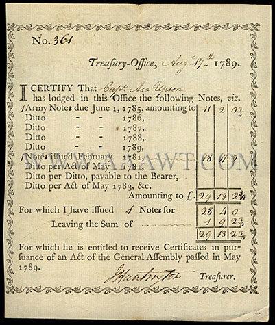 Printed and Handwritten Document