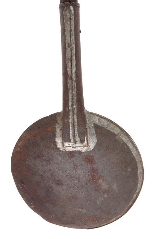 Half Strainer Ladle, Scumming or Skimmer Ladle, detail view 3