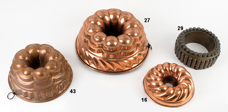 Copper Molds, entire view