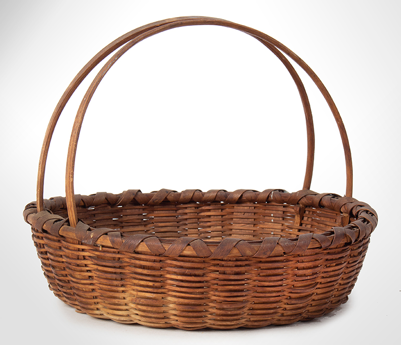 Friendship Basket, Bushwhacker Fruit Basket Form, Small Size Taghkanic, entire view 1