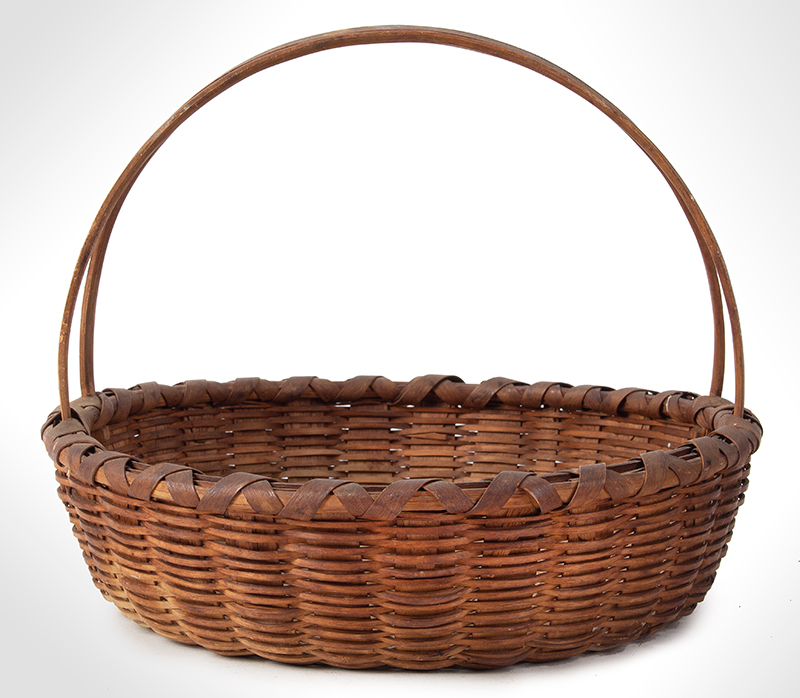 Friendship Basket, Bushwhacker Fruit Basket Form, Small Size Taghkanic, entire view 2