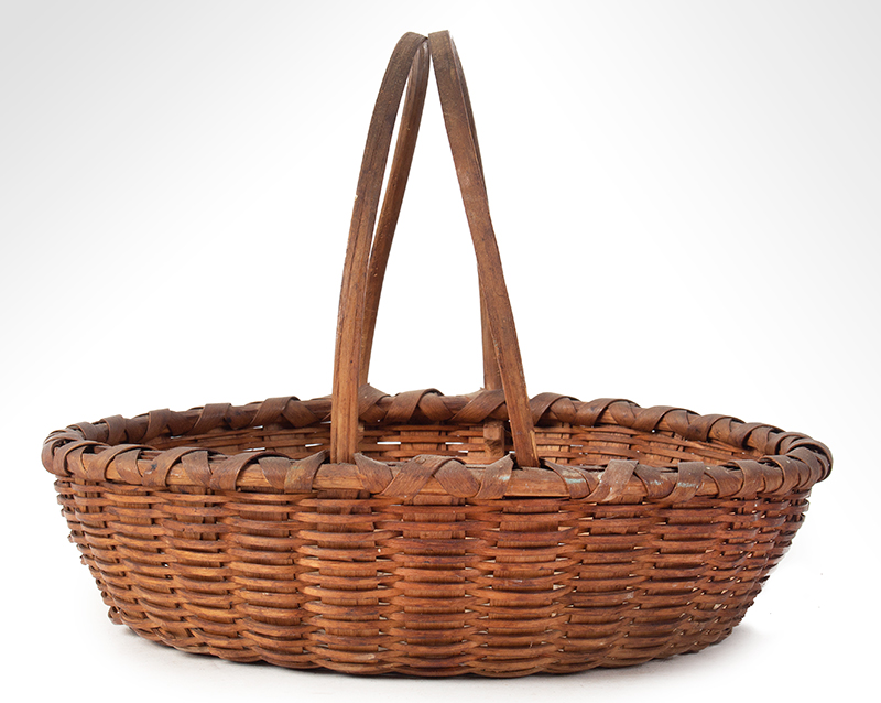 Friendship Basket, Bushwhacker Fruit Basket Form, Small Size Taghkanic, entire view 3
