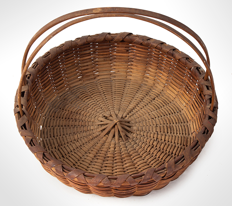Friendship Basket, Bushwhacker Fruit Basket Form, Small Size Taghkanic, entire view 4